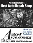 Avalon Auto Voted Saskatoon's Best Auto Repair Shop