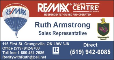 Ruth Armstrong with REMAX REAL ESTATE CENTRE