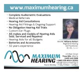 MAXIMUM HEARING