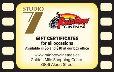 Rainbow Cinemas  Gift Certificates For All Occasions