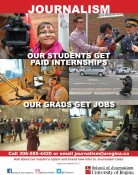 School of Journalism OUR STUDENTS GET PAID INTERNSHIPS & OUR GRADS GET JOBS