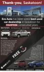 Ens Auto has been voted best used car dealership in Saskatoon for FOURTEEN consecutive years
