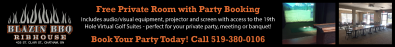 Book Your Party Today with Blazin BBQ Ribhouse
