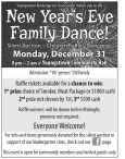 Youngstown Kindergarten Association Invites you to the New Year's Eve Family Dance!