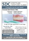 SDC STETTLER DENTURE CLINIC  Caring for you & your Smile!