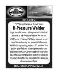 """U"" Stamp Pressure Vessel Shop B-Pressure Welder wanted"