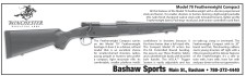 Model 70 Featherweight Compact at Bashaw Sports