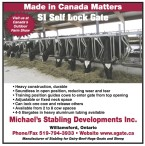Visit Michael's Stabling at Canada's Outdoor Farm Show