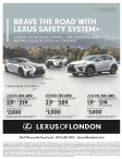 BRAVE THE ROAD WITH LEXUS SAFETY SYSTEM