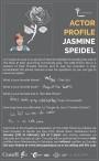 ACTOR PROFILE: JASMINE SPEIDEL