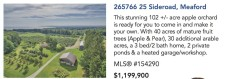This stunning 102 +/- acre apple orchard is ready for you to come in and make it your own
