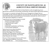 COUNTY OF PAINTEARTH NO. 18 AGRICULTURAL SERVICE BOARD