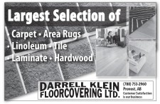 Largest Selection of • Carpet • Area Rugs • Linoleum • Tile • Laminate • Hardwood