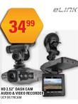 "HD 2.52"" DASH CAM AUDIO & VIDEO RECORDER"
