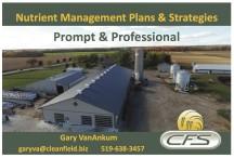 Nutrient Management Plans & Strategies