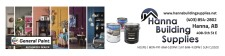 Hanna Building Supplies is your General Paint AUTHORIZED DEALER