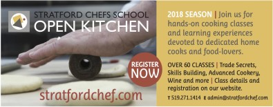 Join Stratford Chefs School for hands-on cooking classes