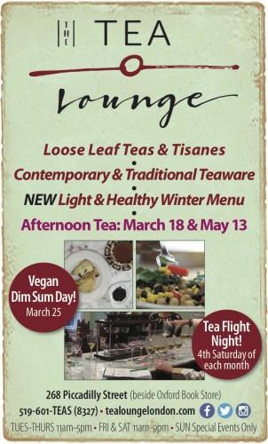 THE TEA Lounge  Loose Leaf Teas & Tisanes