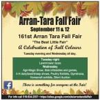 161st Arran Tara Fall Fair