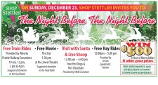 SHOP STETTLER INVITES YOU TO The Night Before The Night Before