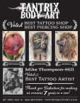 TANTRIX BODY ART  Voted BEST TATTOO SHOP