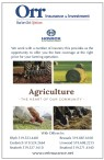 Orr has the best coverage at the right price for your farming operation