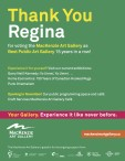 Thank You Regina for voting the MacKenzie Art Gallery as Best Public Art Gallery
