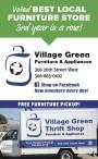 Village Green Furniture & Appliances Voted BEST LOCAL FURNITURE STORE