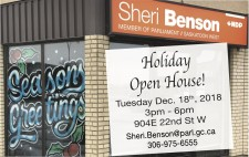 Sheri Benson Holiday Open House!