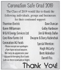 Coronation Safe Grad 2019
