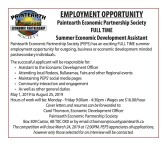PAINTEARTH SOCIETY ECONOMIC PARTNERSHIP  EMPLOYMENT OPPORTUNITY