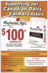 Mapleview Agri would like to thank Canadian Dairy Farmers for buying Canadian products