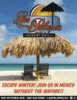 ESCAPE WINTER! JOIN Las Palapas IN MEXICO (WITHOUT THE AIRFARE)!
