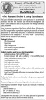 Office Manager/Health & Safety Coordinator wanted