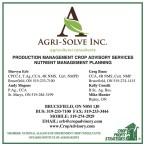 PRODUCTION MANAGEMENT CROP ADVISORY SERVICES